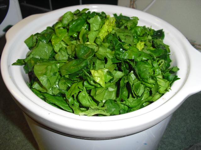 Lentejas en olla de coccion lento comida postre for Espinacas como cocinarlas