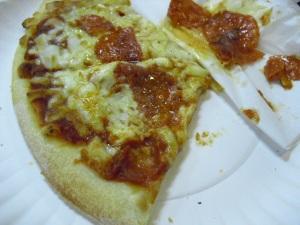 Muy grasosa pizza