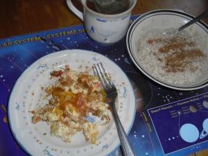 Claras de huevo a la mexicana