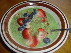 cereal verde